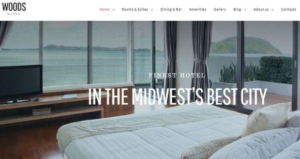 Woods Hotel – WPML Ready WordPress Theme