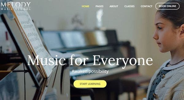 Melody – Premium Plugin Powered WordPress Theme