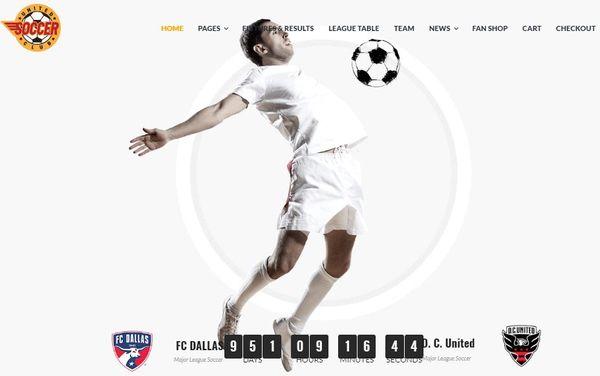 Soccer Club – WPBakery WordPress Theme
