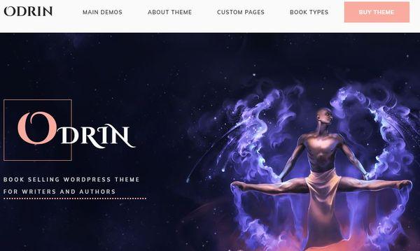 Odrin – E-commerce Enabled WordPress Theme