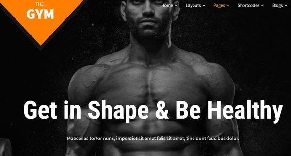 SKT Gym Pro- Live Customizer Featured WordPress Theme