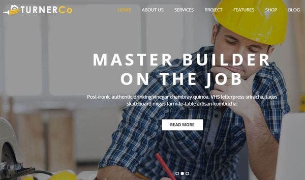 Turner – SEO Ready WordPress Theme