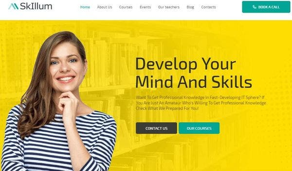 SkIllum - Elementor WordPress Theme