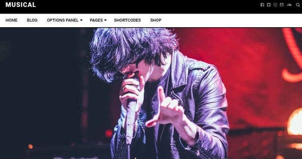 Musical- Multilingual WordPress Theme