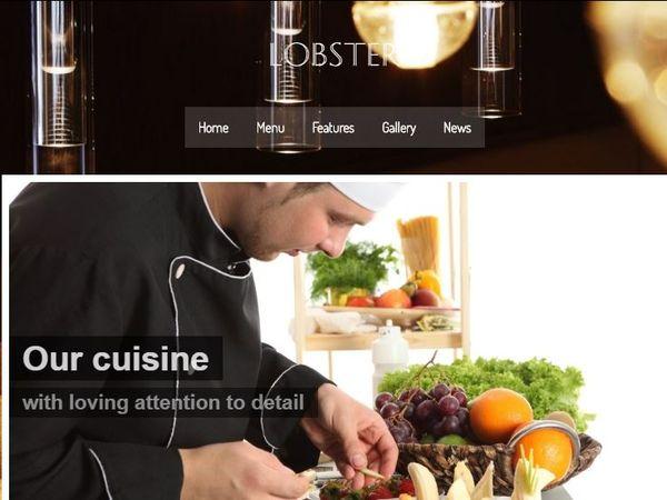 Lobster – Parallax WordPress Theme