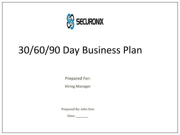 30 60 90 day business manager plan 01
