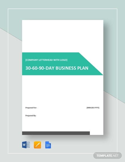 30 60 90 day business plan1