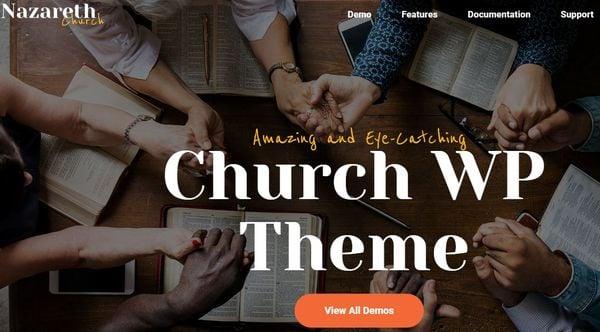 Nazereth – Give-Donations Plugin WordPress Theme