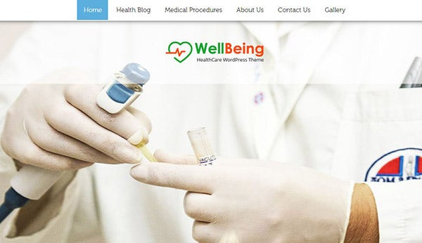 WellBeing – Translation Ready WordPress Theme