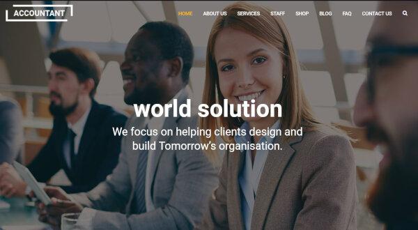 Accountant – High-Speed WordPress Theme