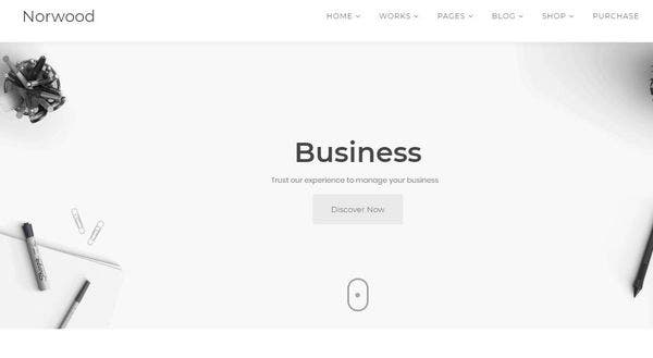 Norwood - Merlin WP Powered WordPress Theme