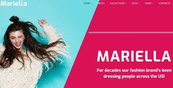 Mariella- Live Them Customizer Supported WordPress Theme