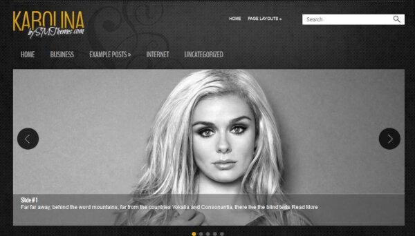 Karolina – WooCommerce Enabled WordPress Theme