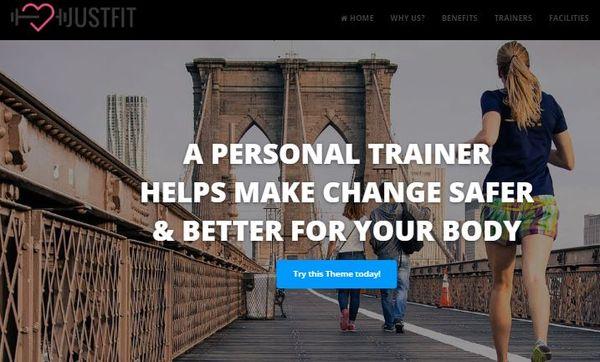 JustFit – Speed Optimized WordPress Theme