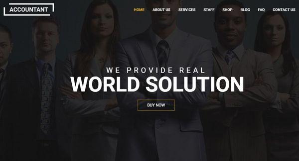 Accountant – High-Performance WordPress Theme