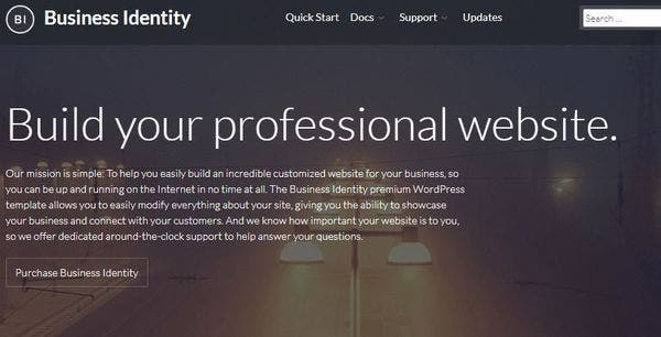 Business Identity – Cross-browser Compatible WP Theme