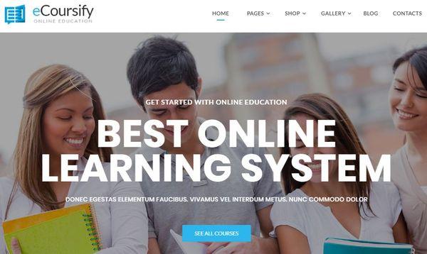 ECoursify - LMS WordPress Theme