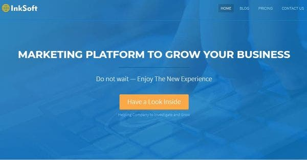 InkSoft – Cross-browser Compatible WordPress Theme