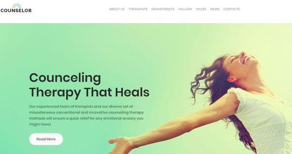 Counselor- Free User-friendly WordPress Theme