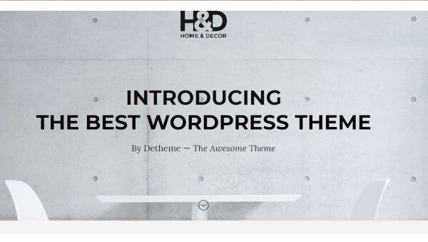 H&D- RTL supported WordPress Theme