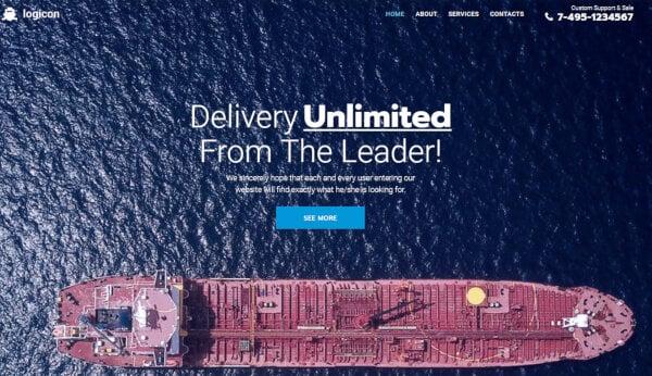Logicon – JetMenu Plugin WordPress Theme