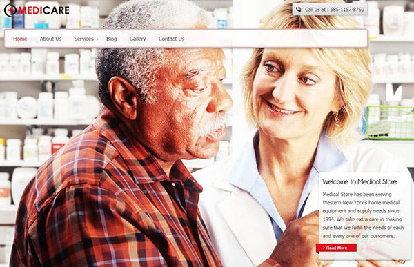 Medicare – SEO Driven WordPress Theme