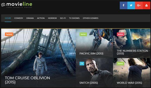 MovieLine– Fully Responsive WordPress Theme
