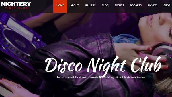 Nightery – KingComposer WordPress Theme