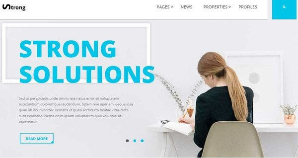 Strong – Front-End Builder WordPress Theme
