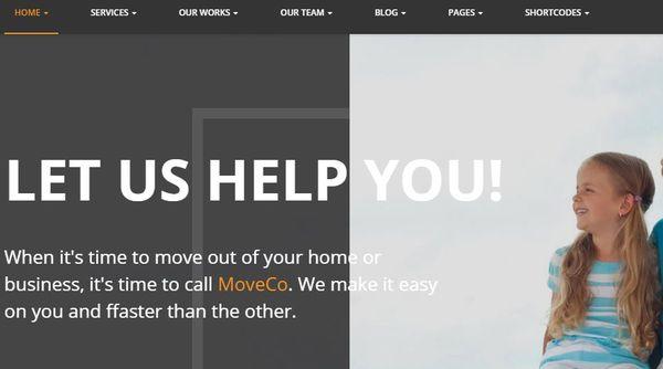 MoveCo – Redux Framework WordPress Theme