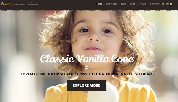 Cream – WooCommerce WordPress Theme
