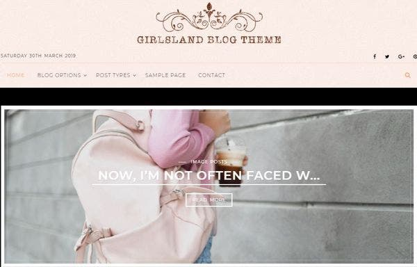 Girlsland – Translation Ready WordPress Theme
