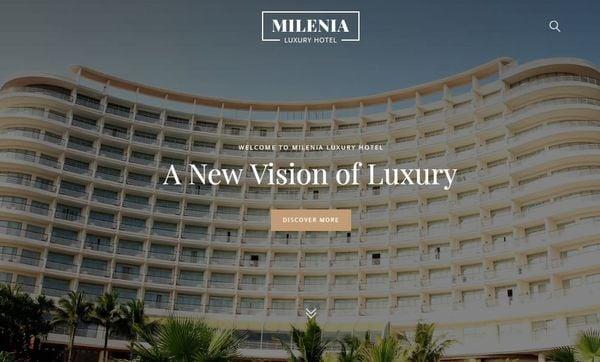 Milenia – Customizable WordPress Theme
