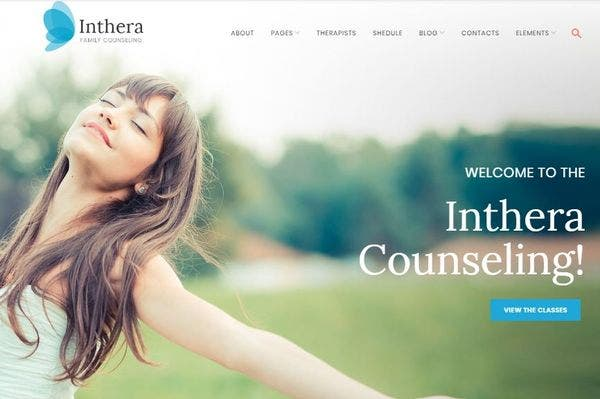 Inthera- Counselling Theme for Therapists