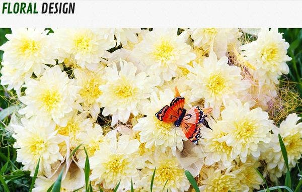 Flowers: Multilingual WordPress Theme