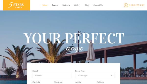 5 stars – seo optimized wordpress theme