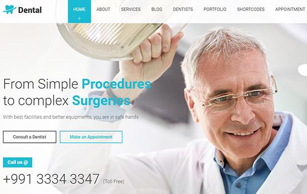 Dental Health – Procedures Module WordPress Theme