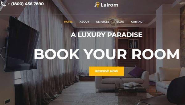 Lairom – Responsive WordPress Theme