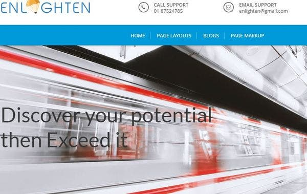 Enlighten Pro – One-Click Demo Import WordPress Theme