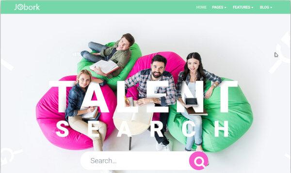 Jobork - Retina Ready WordPress Theme