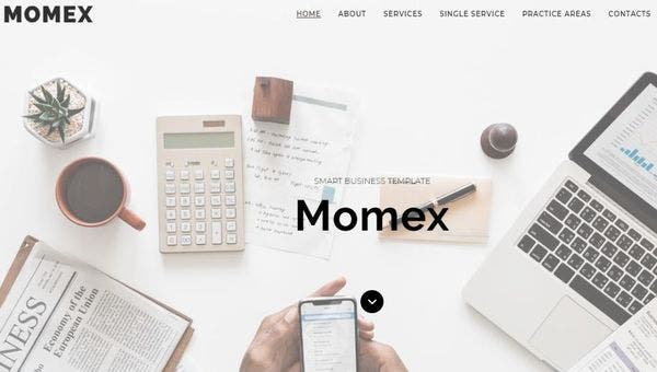 Momex – Live Customizer WordPress Theme