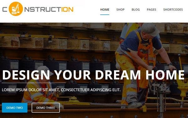 Construction Pro – Customizer based WordPress Theme