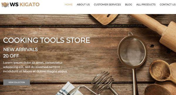 WS Kigato- Bootstrap built-in WordPress Theme