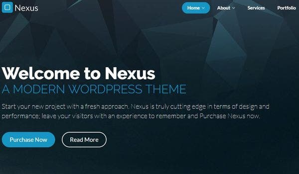 Nexus – Translate Ready WordPress Theme