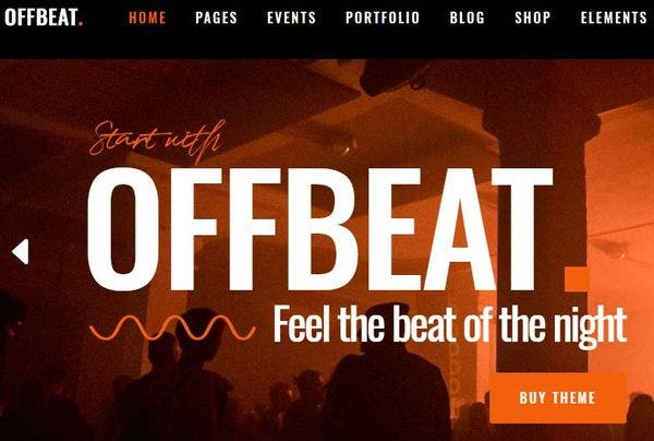 Offbeat – Lively WordPress Theme