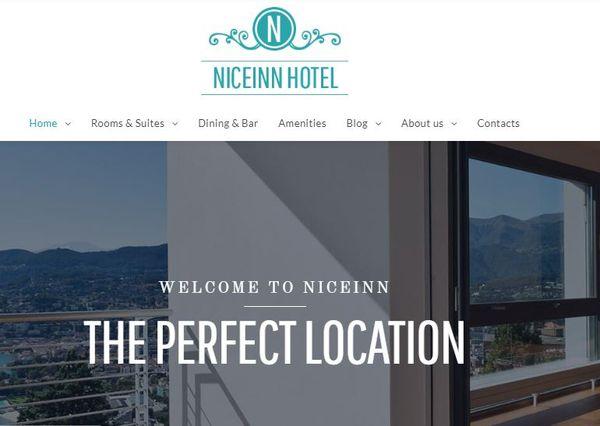 NiceInn - Commenting Enabled WordPress Theme
