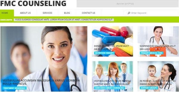 FMC Counselling- Intuitive Medical Theme