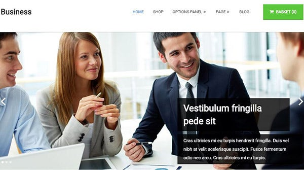 Business – Affordable and powerful corporate WordPress theme