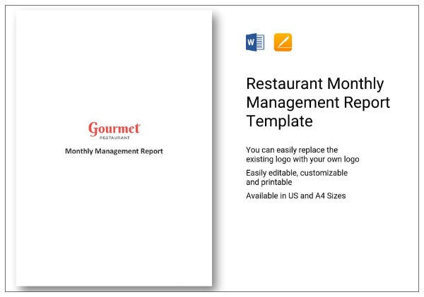 613 monthly management report 01