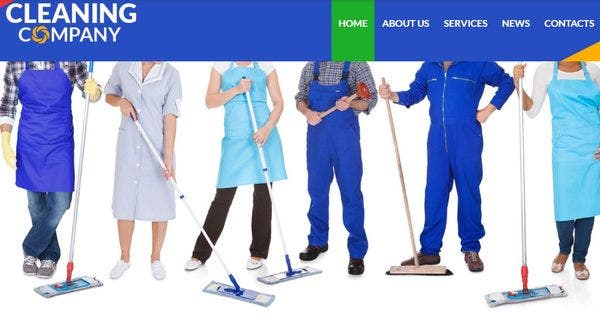Cleaning Services – SEO Ready WordPress Theme